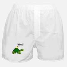 Snail Turtle Ride Boxer Shorts