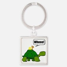 Snail Turtle Ride Keychains