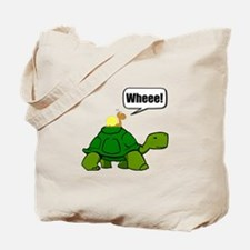 Snail Turtle Ride Tote Bag