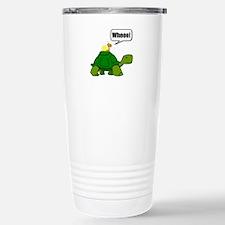 Snail Turtle Ride Travel Mug