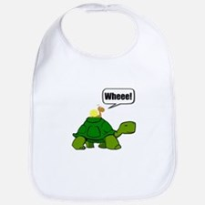 Snail Turtle Ride Bib