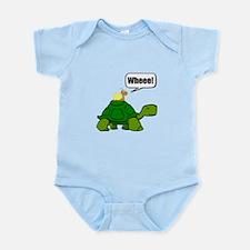 Snail Turtle Ride Body Suit