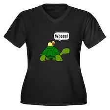 Snail Turtle Ride Plus Size T-Shirt
