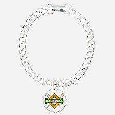 Baseball Logo Bracelet