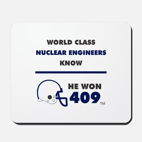 Nuclear Engineers Mousepad