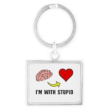 Stupid Heart Keychains