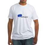 Knitters - Knit Happens Fitted T-Shirt