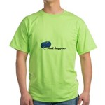 Knitters - Knit Happens Green T-Shirt