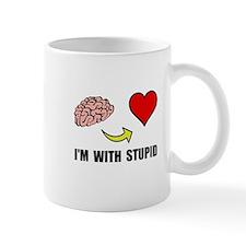 Stupid Heart Mugs