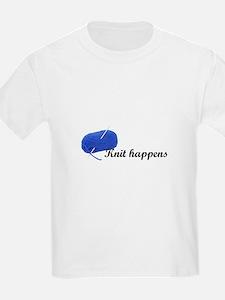 Knitters - Knit Happens T-Shirt