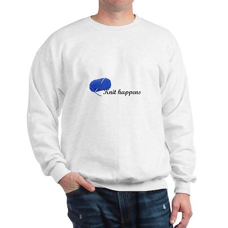 Knitters - Knit Happens Sweatshirt