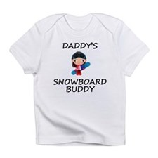 Daddys Snowboard Buddy Infant T-Shirt