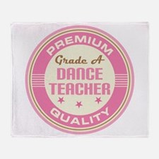 Premium quality Dance teacher Throw Blanket