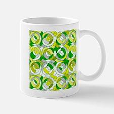 the 70s green round pattern Mugs