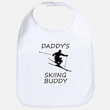 Daddys Skiing Buddy Bib