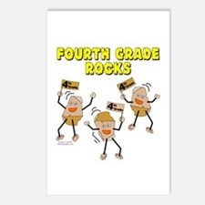 Fourth Grade Rocks Postcards (Package of 8)