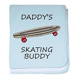 Baby skateboard Blanket