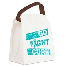 PCOS Go Fight Cure Canvas Lunch Bag