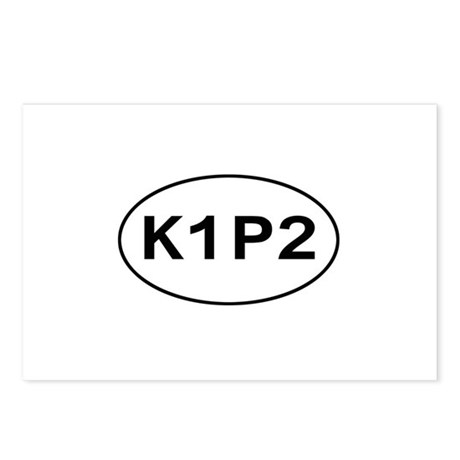 K1P2 - Knit One Purl Two Postcards (Package of 8)
