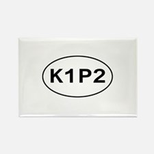 K1P2 - Knit One Purl Two Rectangle Magnet