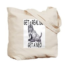 Real Dogs Come with Saddles Tote Bag