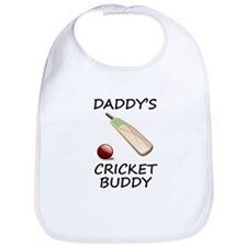Daddys Cricket Buddy Bib