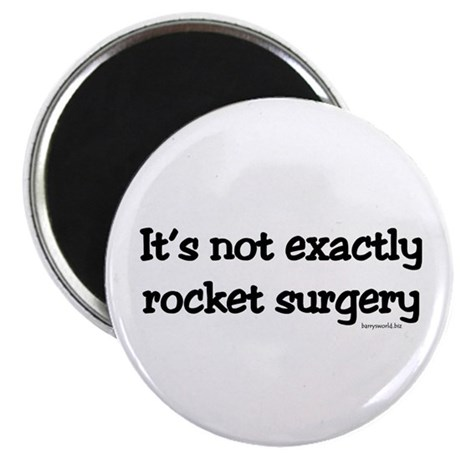 "Rocket Surgery 2.25"" Magnet (10 pack)"