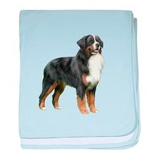 Bernese MD (stand) baby blanket