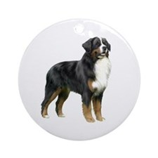 Bernese MD (stand) Ornament (Round)