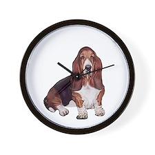 Basset #1 Wall Clock