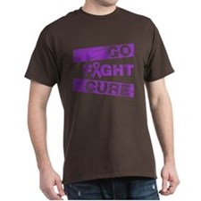 Pancreatic Cancer Go Fight Cure T-Shirt