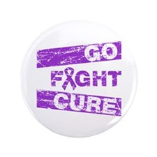 "Pancreatic Cancer Go Fight Cure 3.5"" Button"