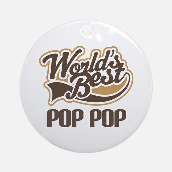World's Best PopPop Ornament (Round)