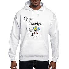 Great Grandpa To Bee Again Hoodie