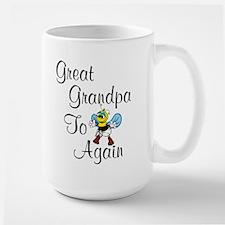 Great Grandpa To Bee Again Large Mug