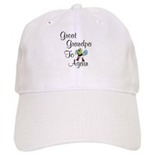 Great Grandpa To Bee Again Baseball Cap