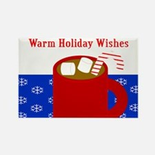 Warm Holiday Wishes Magnets