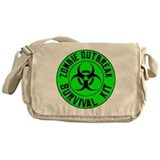 Neon green Messenger Bags & Laptop Bags
