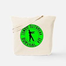 Zombie Outbreak Survival Kit Tote Bag