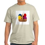 Yarn Basket - Colorful Yarn Light T-Shirt