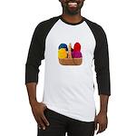 Yarn Basket - Colorful Yarn Baseball Jersey