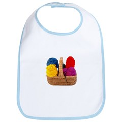 Yarn Basket - Colorful Yarn Bib