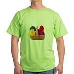 Yarn Basket - Colorful Yarn Green T-Shirt