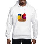 Yarn Basket - Colorful Yarn Hooded Sweatshirt