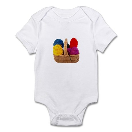 Yarn Basket - Colorful Yarn Infant Bodysuit