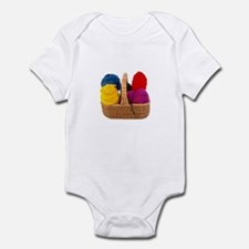 Yarn Basket - Colorful Yarn Infant Bodysuit