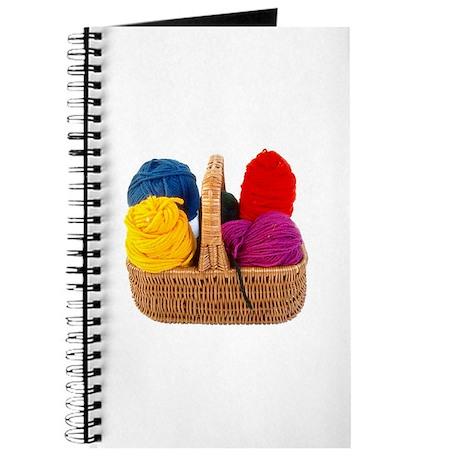 Yarn Basket - Colorful Yarn Journal