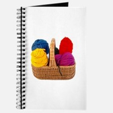 Yarn Basket - Colorful Yarn Journal