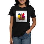 Yarn Basket - Colorful Yarn Women's Dark T-Shirt