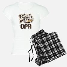 Worlds Best Opa Pajamas